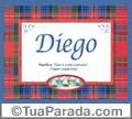 Significado e origem de Diego