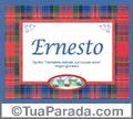 Significado e origem de Ernesto