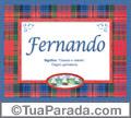 Significado e origem de Fernando