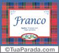 Significado e origem de Franco