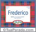 Significado e origem de Frederico