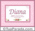 Significado e origem de Diana