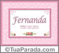 Significado e origem de Fernanda