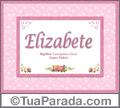 Significado e origem de Elizabete