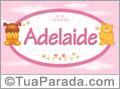 Nomes de bebê: Adelaide