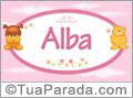 Nomes de bebê: Alba