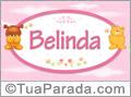 Nomes de bebê: Belinda