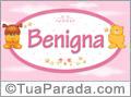 Nomes de bebê: Benigna