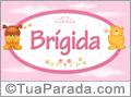 Nomes de bebê: Brigida