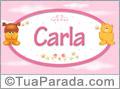 Nomes de bebê: Carla