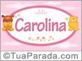 Nomes de bebê: Carolina