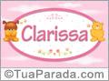 Nomes de bebê: Clarissa