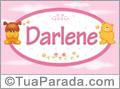 Nomes de bebê: Darlene