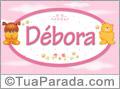 Nomes de bebê: Débora