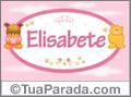 Nomes de bebê: Elisabete