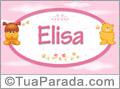 Nomes de bebê: Elisa