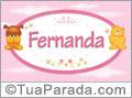 Nomes de bebê: Fernanda