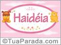 Nomes de bebê: Haidéia