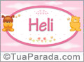 Nomes de bebê: Heli