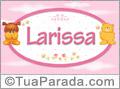 Nomes de bebê: Larissa