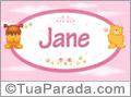 Nomes de bebê: Jane