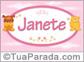 Nomes de bebê: Janete
