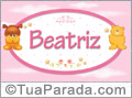 Nomes de bebê: Beatriz