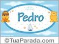 Nomes para bebês, Pedro