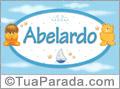 Nomes de bebê: Abelardo