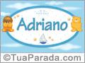 Nomes de bebê: Adriano