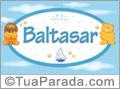 Nomes de bebê: Baltasar