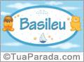 Nomes de bebê: Basileu