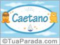 Nomes de bebê: Caetano