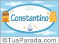 Nomes de bebê: Constantino