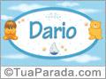 Nomes de bebê: Darío
