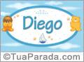 Nomes de bebê: Diego