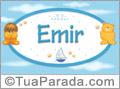 Nomes de bebê: Emir