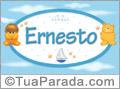 Nomes de bebê: Ernesto