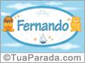 Nomes de bebê: Fernando