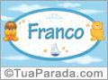Nomes de bebê: Franco