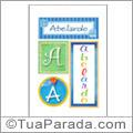 Nomes Abelardo para imprimir em cartazes