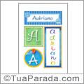 Nomes Adriano para imprimir em cartazes