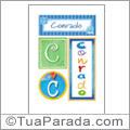 Nomes Conrado para imprimir em cartazes