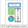 Nomes Felipe para imprimir em cartazes