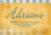 Nome Adriano