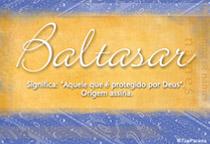 Nome Baltasar
