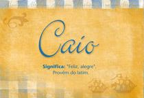 Nome Caio