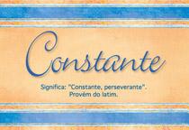 Nome Constante