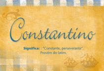 Nome Constantino
