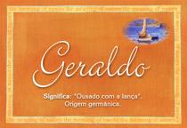 Nome Geraldo